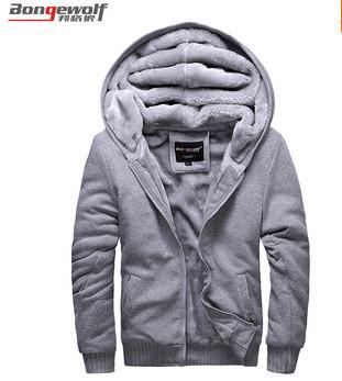 More men coat sportswear fleece hoodies man baseball uniform(China (Mainland))