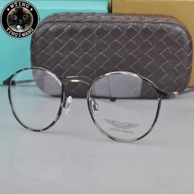 2015 New Fashion Retro Myopia Glasses Metal Frames Brand Men Women Round Eyeglasses Optical Spectacle Glasses Oculos de grau(China (Mainland))