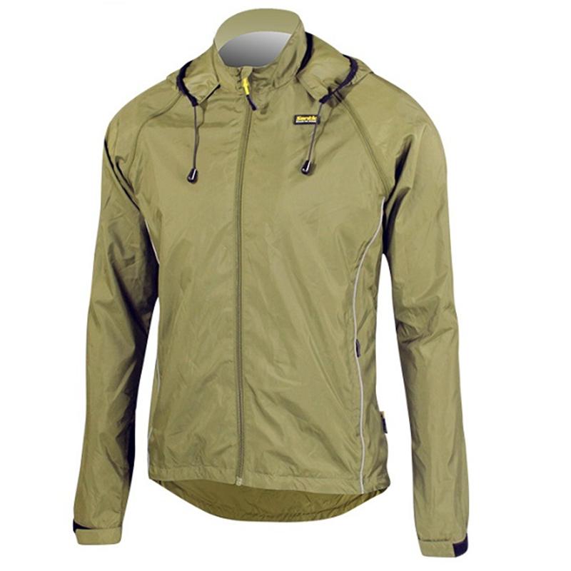 Men's Bike Light Wind Coat Bicycle Cycling Jacket Long Sleeve XL-3XL Santic(China (Mainland))