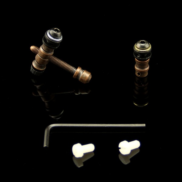 5 Sets Coil Tattoo Machine Parts Brass Front Rear Contact Binding Post Supply(China (Mainland))