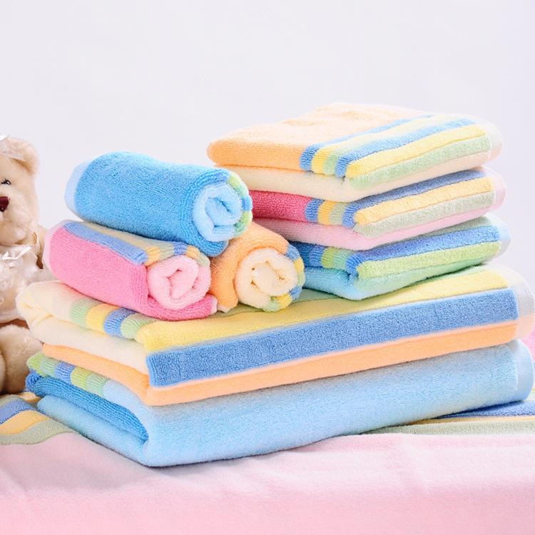 high quality towel set 100% cotton luxury towel set Jacquard bath towel 3 colors(China (Mainland))