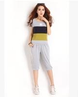 Summer Women T Shirt+Pants Tracksuits ,Sports Suit for Women ,Sportwear 2 piece set women shorts and tops sets L-4XL C2669