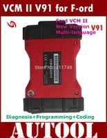 2015 High Quality VCM2 Diagnostic Scanner For Ford VCM II IDS Support 2014 Ford Vehicles IDS VCM 2 OBD2 Scanner DHL Free