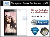 Premium Protective Glass 9H Hardness Tempered Glass Screen Protector For Lenovo K900 Protective Film with Retail Package
