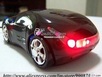 Wholesale - 50pcs/lot New style Notebook Mouse New 3D USB Optical Car Mouse For LAPTOP DESKTOP PC ivu911