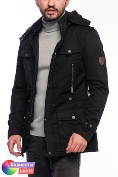 Мужская куртка-пилот Let's GO с капюшоном из коллекции весна 2015 из Турции с бесплатной экспресс доставкой ( 14K6620 ) [ BR05 MCM01 TP40 SP07 ]