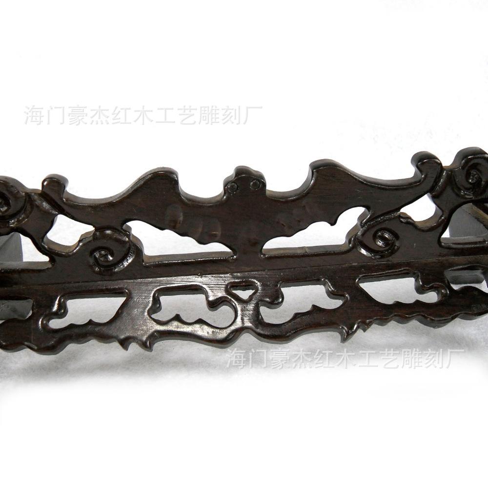 Black sticks of wood bats hanging jade African ebony bat rack hanging jade jade hanging rack shelf factory wholesale(China (Mainland))