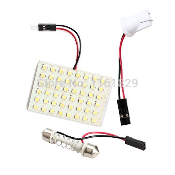 Источник света для авто Oem 48 SMD T10 W5W BA9S T4W C5W 48
