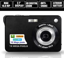 16.0 Mega pixels CMOS Sensor digital camera 4x Digital Zoom mini camcorders photo camera with Rechareable Battery dc-530i camera