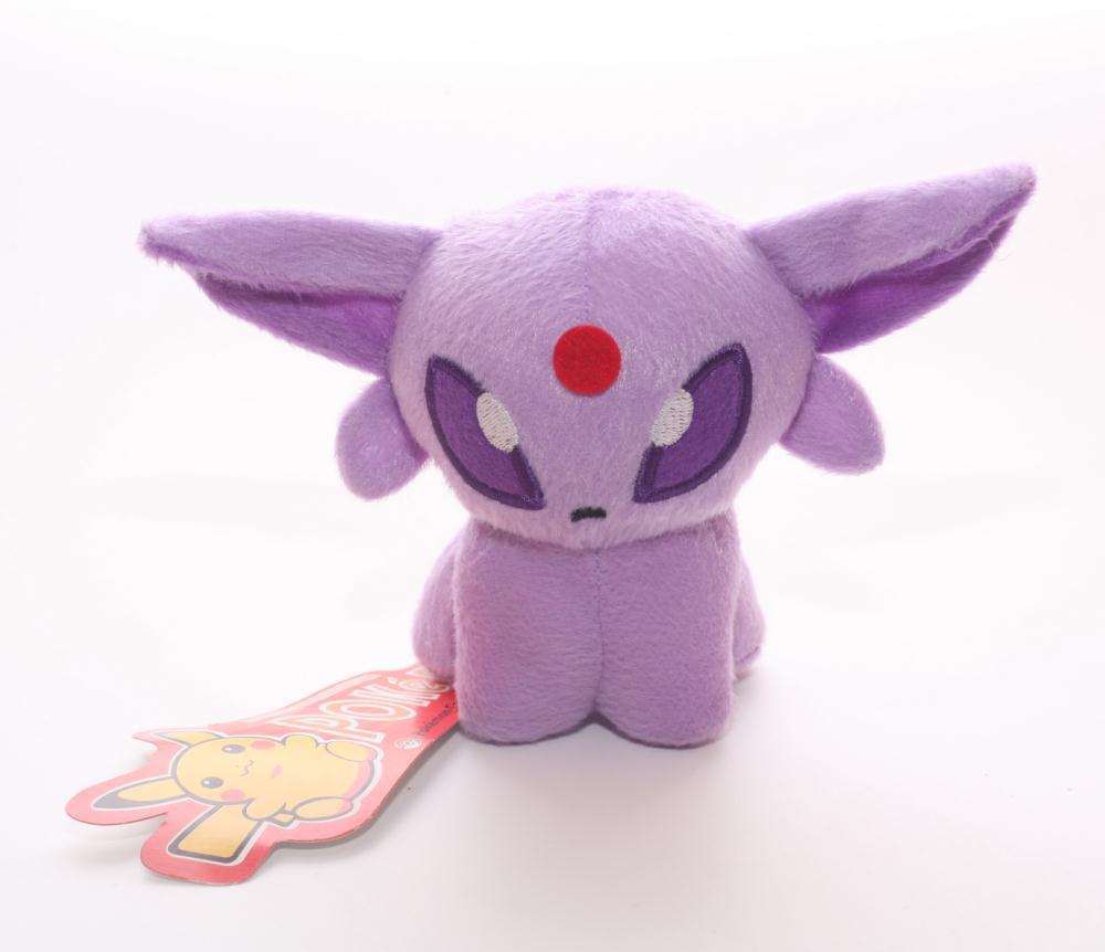 10pcs/lot Movies & TV Pokemon figure Pocket Monster Espeon plush toy about inch doll christmas gift(China (Mainland))