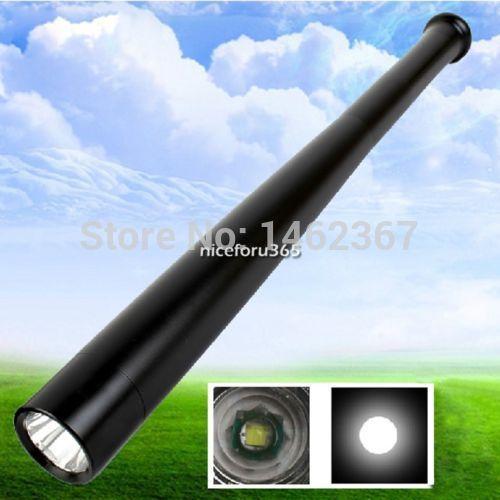Long Security Light 1800 Lumen Baseball Bat Shape CREE Q5 LED 18650 Flashlight Torch 3 Mode(China (Mainland))