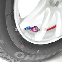 Car styling purple landmine style Car Valve Cap , tire valve cap