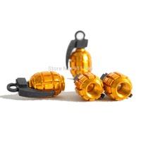 Car styling gold landmine style Car Valve Cap , tire valve cap
