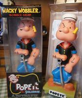 FUNKO Popeye the Sailor man Wacky Wobbler Bobble Head PVC Action Figure Collection Toy Doll 17CM