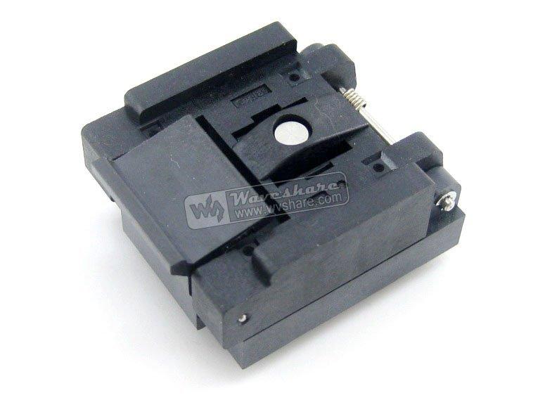 Discount QFN10 MLP10 MLF10 QFN-10(20)B-0.5-02 QFN Enplas IC Test Socket Programming Adapter 2 Sides 3x3mm 0.5mm Pitch(China (Mainland))