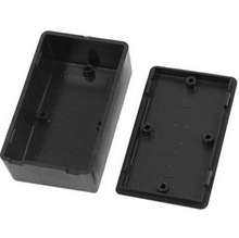 5 pcs New Plastic Electronic Project Box 100x60x25mm Black DIY Enclosure Instrument Case Electrical Supplies