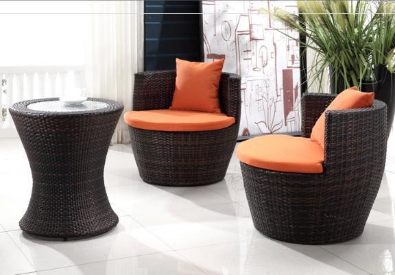 Compra muebles de mimbre silla online al por mayor de - Muebles rattan exterior ...