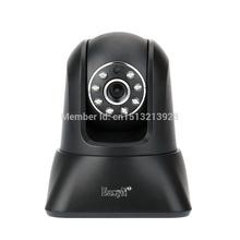 EasyN Wireless Surveillance Indoor P2P Wifi IP Camera 0.3 Megapix Pan & Tilt Plug & Play Smartphone PC Monitor