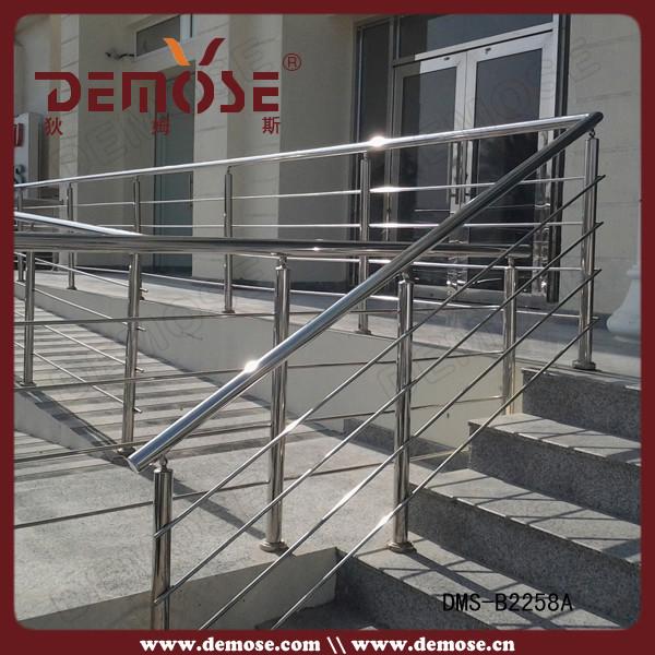 Acheter en acier inoxydable escaliers main courante balustrad - Balustrade acier exterieur ...