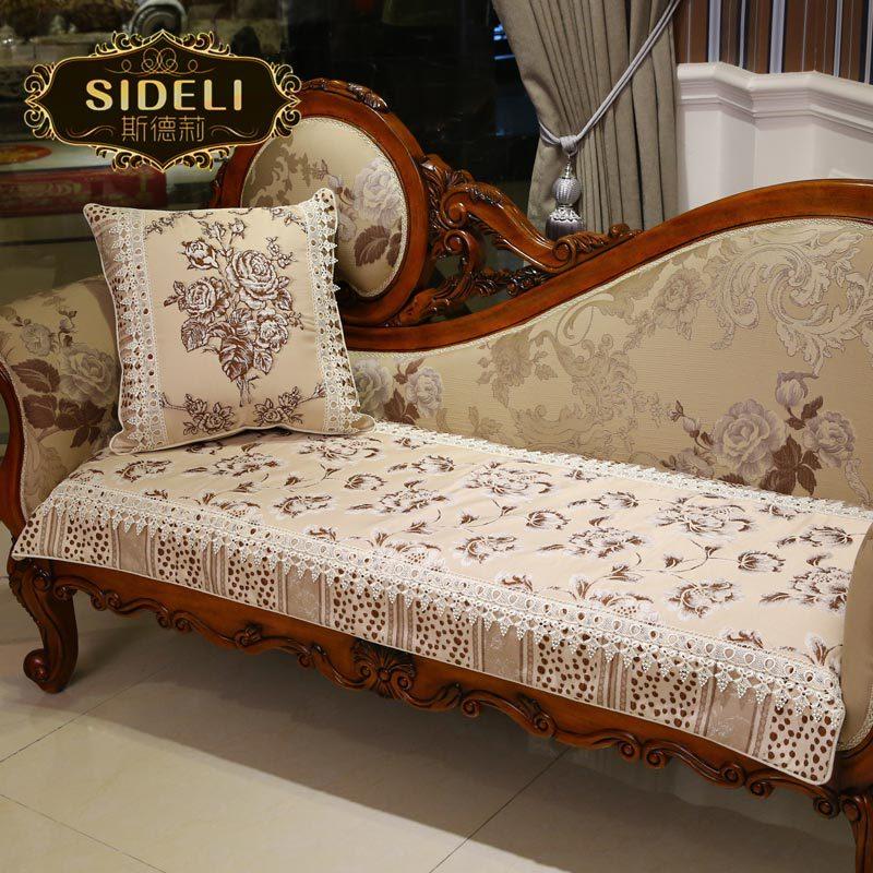 Side Li upscale European-style sofa cushion embossed jacquard fabric sofa cushion sofa cushions fashion thicker skid(China (Mainland))