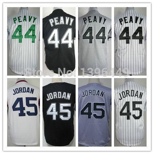 Cheap Chicago White Sox #44 Jake Peavy #45 Michael Jordan Jersey Baseball 100% Stitched Logos Cool Base Jersey(China (Mainland))