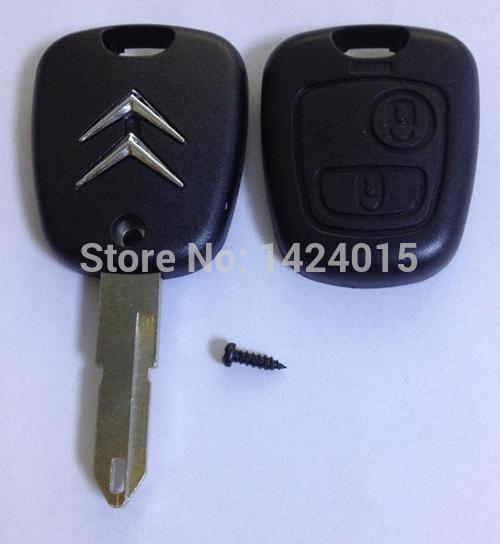 L3-1 New Remote car Key Shell for citroen C5 2 buttons remote key shell citroen c2(China (Mainland))