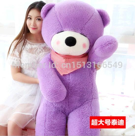 Hot 80CM Giant Huge Big Soft Plush White Teddy Bear Halloween Christmas Gift Valentine's Day Gifts(China (Mainland))