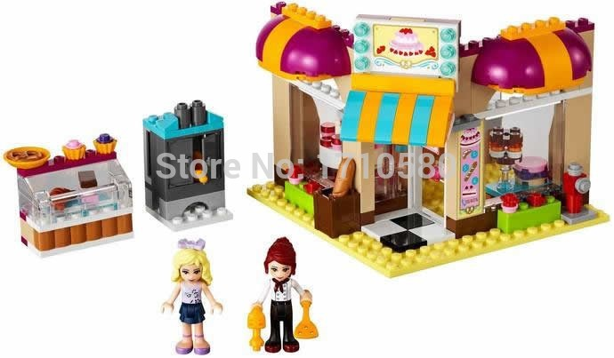 Bela 10165 Friends Series The Girl Ice Cream Shop Action Minifigure Buliding Block Bricks diy Toy Learning Compatible With(China (Mainland))