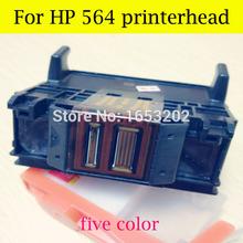 HOT!! 5 Color For HP564 printerhead For HP printer B6550 C5380 C6375 C6340 C6350 C6380 D5460 C510A D5445 printer head