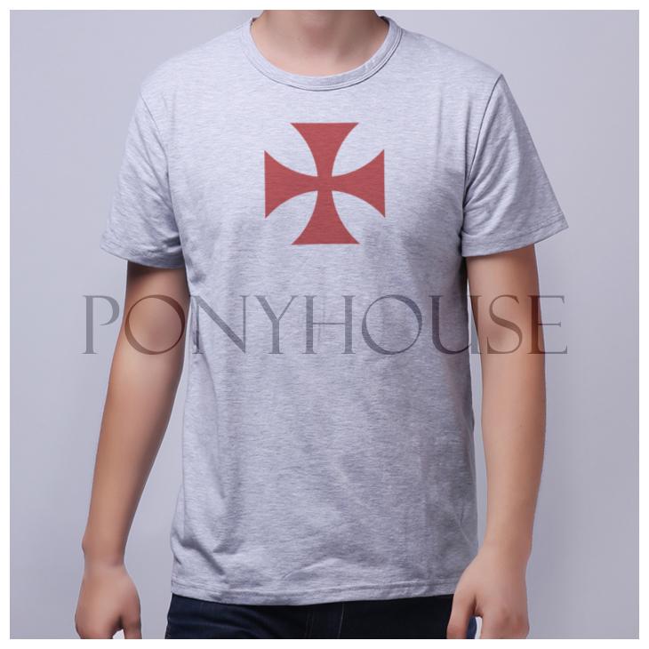 Knights Templar Symbols t Shirt 2014c Psj Creed Templar Primer Shirt Leisure Knights Templar Short Sleeved