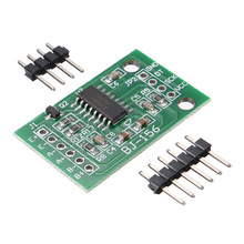 For Arduino Dual-channel HX711 Weighing Pressure Sensor 24-bit Precision A/D Module