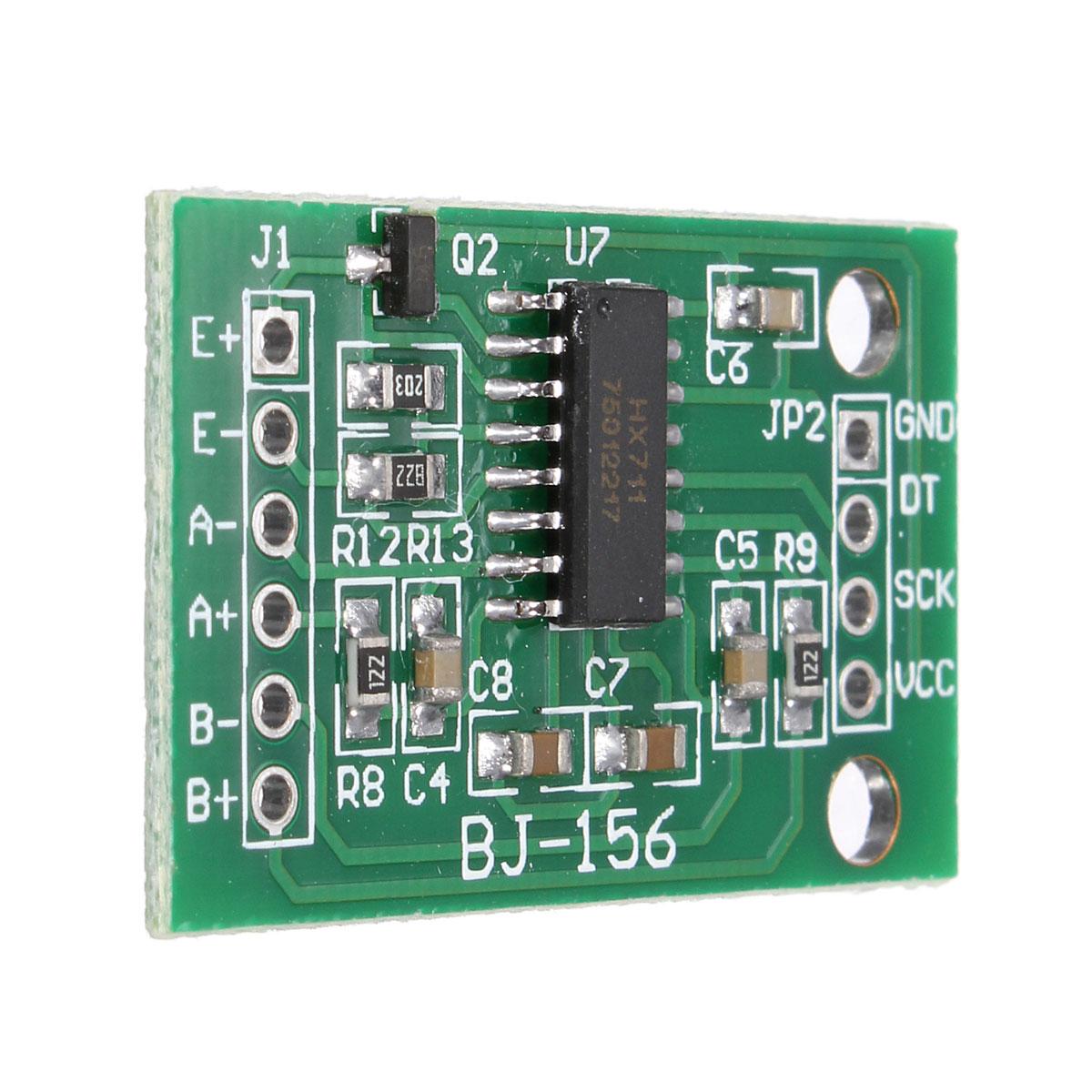 For Arduino Dual channel HX711 Weighing Pressure Sensor 24 bit Precision A D Module