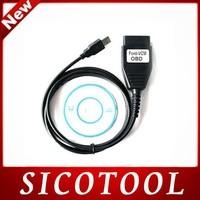 Free Shipping Super OBD2 Diagnostic Scanner FORD VCM CableFORD VCM OBD For FORD/Mazda CNP Ford VCM OBD Focom