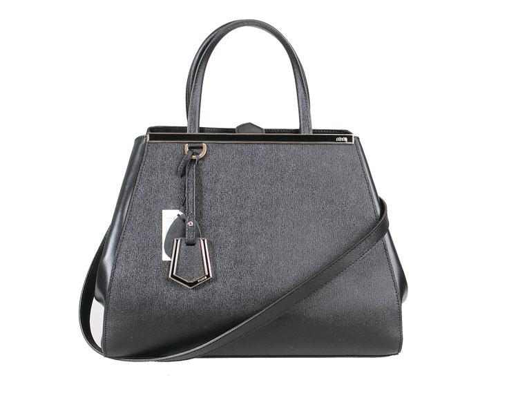 Black Ladies celebrity style genuine leather IT bag 2jours elite tote shoulder handbag , 7 days EMS free Shipping(China (Mainland))