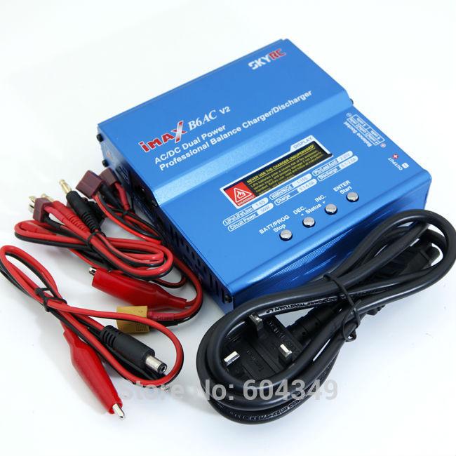 Запчасти и Аксессуары для радиоуправляемых игрушек SKYRC iMAX B6AC li/po NiMH : 100/240 Charger запчасти и аксессуары для радиоуправляемых игрушек imax b6 b6ac b8 2s 6s 1 t t plug tamiya plug