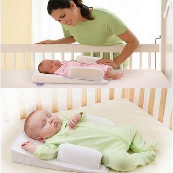 Детские младенческой подушка сна исправлена позиционер ...
