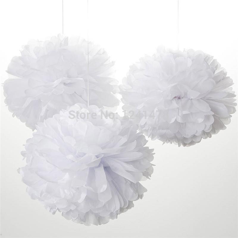 "24 Colors as chart !! Handmade Tissue paper pompom ball wedding decoration 6""(15cm) 22pcs/lot paper flowers balls garlands(China (Mainland))"
