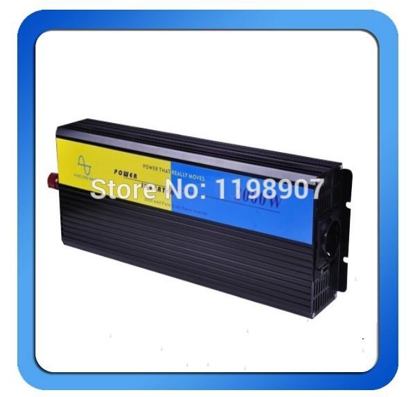 2000w inverter pure sine wave max 4000w power DC 12V 24V 12V 230V to AC100V-240V 50Hz 60Hz for solar wind home use(China (Mainland))