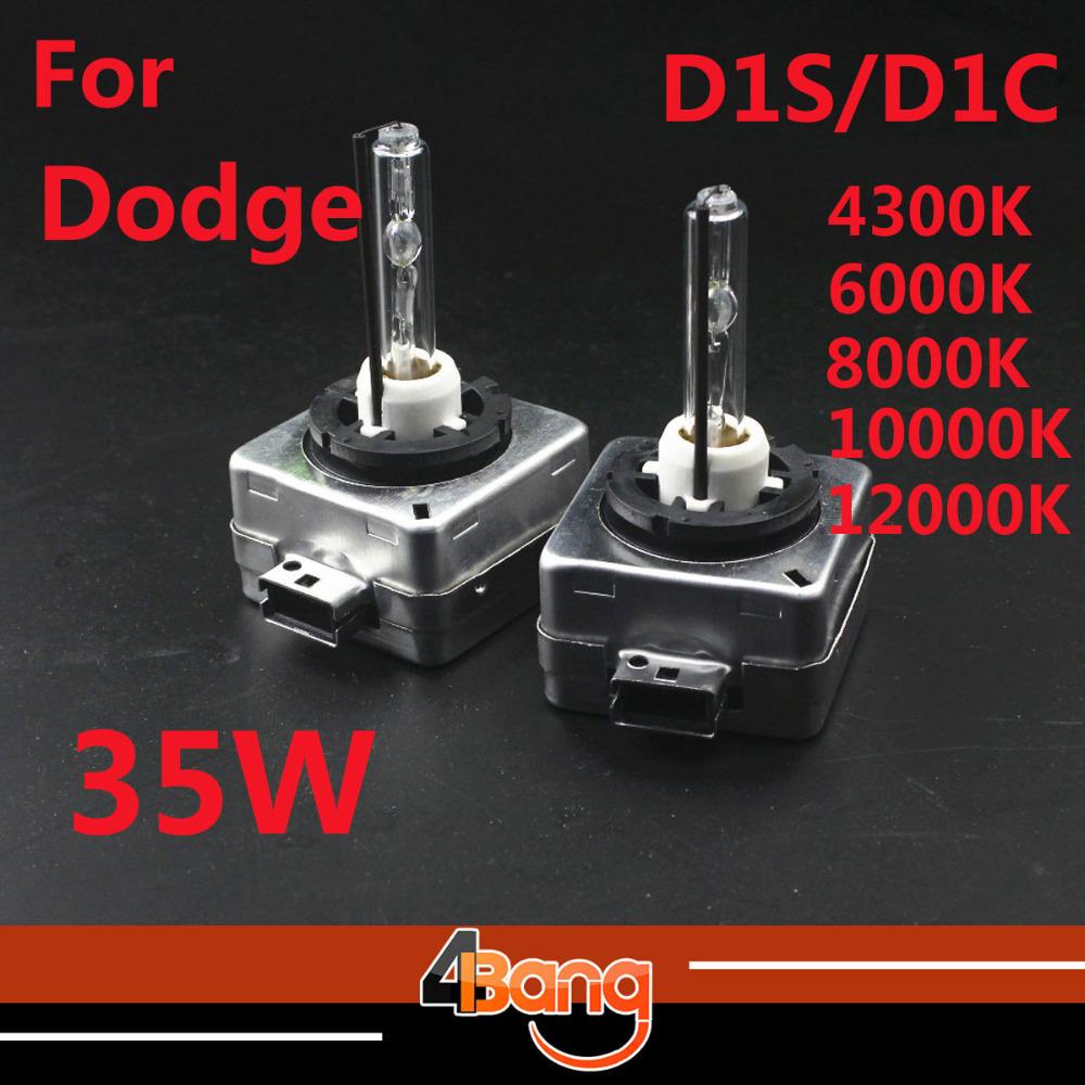 2Pcs 12V 35W D1S D1C Xenon HID Bulb 6000K D1S/C HID Bulb Car Headlight 4300K-15000K For Challenger/Charger/Sprinter 3500/Viper(China (Mainland))