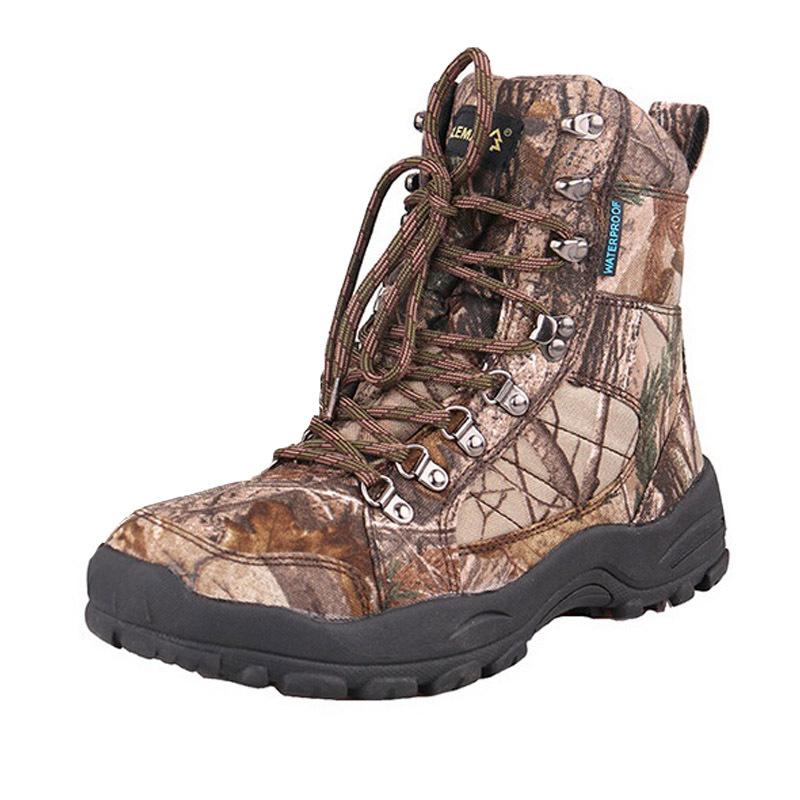 Camo Waterproof Hunting Boots