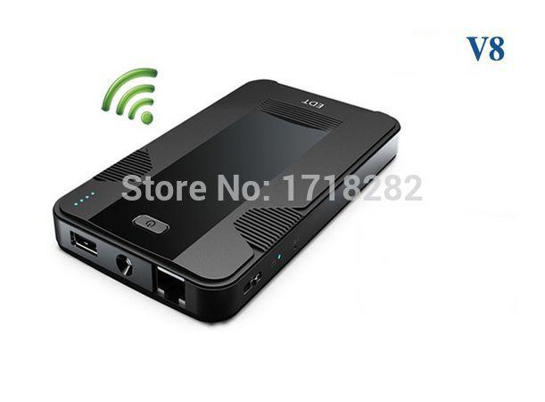 cdma evdo wifi router 3g usb wifi router with sim for EVDO with power bank 12000mAh and RJ45 WLAN --- V8E(China (Mainland))