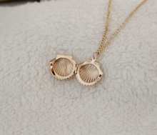 The new exquisite shell necklace can open creative jewelry factory direct YP0450