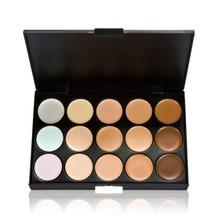 New 15 Colors Contour Face Cream Makeup Concealer Palette Powder Brush 99 9 Area Free Shipping