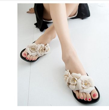 2015 Summer latest herringbone female sandals stereo camellia PVC jelly slippers wholesale women sandals. LX220(China (Mainland))