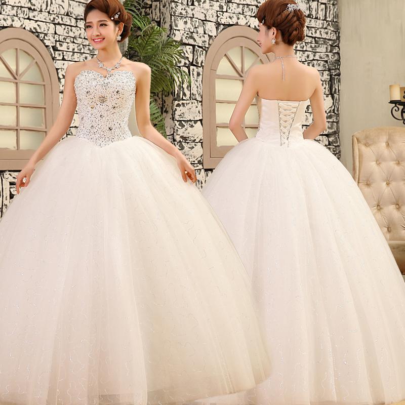 2016 Luxury Wedding Gowns Bride Dresses High QualityCrystals QASIM RATHOORE
