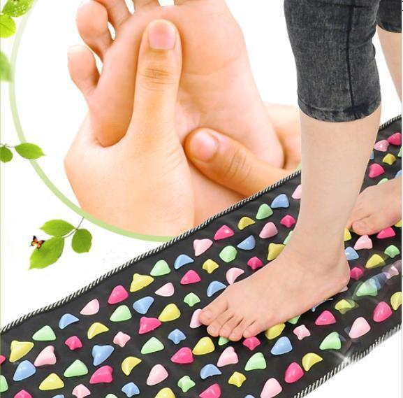 Take health home Imitation cobblestone foot massage pad foot gravel walk blanket(China (Mainland))