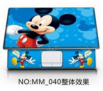 Imagic colorido dos desenhos animados Notebook Laptop adesivo cobrir + TouchPad Touch Pad espaço adesivos e Netbook pele bonita e kawayi 02(China (Mainland))