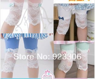 Леггинсы для девочек New brand 100pcs/lot leggings12 Ninth pants brand new 2pcs lot 100
