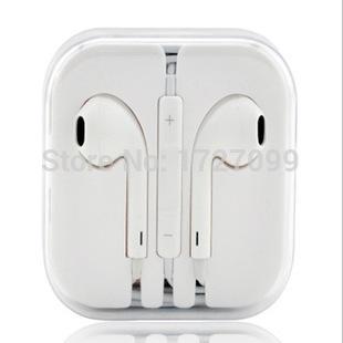 2015 Hot sale Earphones Headphones With MIC For Apple iPhone 4s 5 5s 5c 6 ipod samsung htc phone mp3 free/drop shipp(China (Mainland))