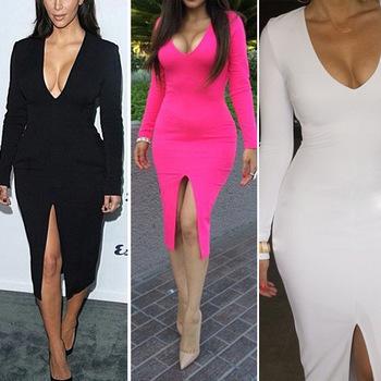 Женское платье WAQIA 2015 v Midi s/xxl